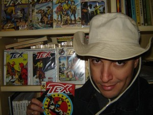 Leo Radd e a colecção de Tex