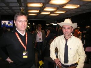 Marco Bianchini e Tex (Ricardo Leite)