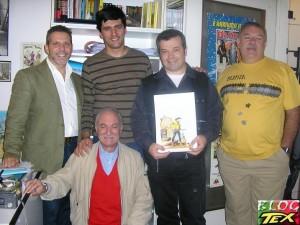 Moreno Burattini, Gianni Petino, José Carlos Francisco, Claudio Villa e Dorival Vitor Lopes