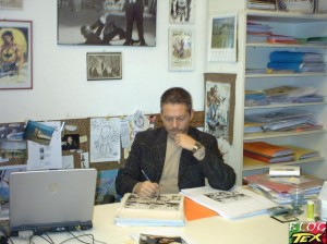 Moreno Burattini na redacção