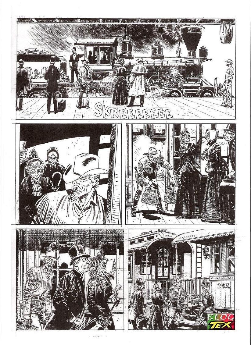 Página 151 da história inédita La mano del morto