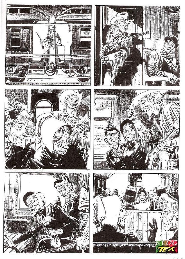 Página 166 da história inédita La mano del morto