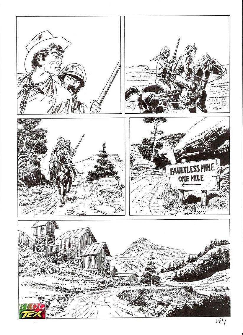 Página 184 da história inédita La mano del morto