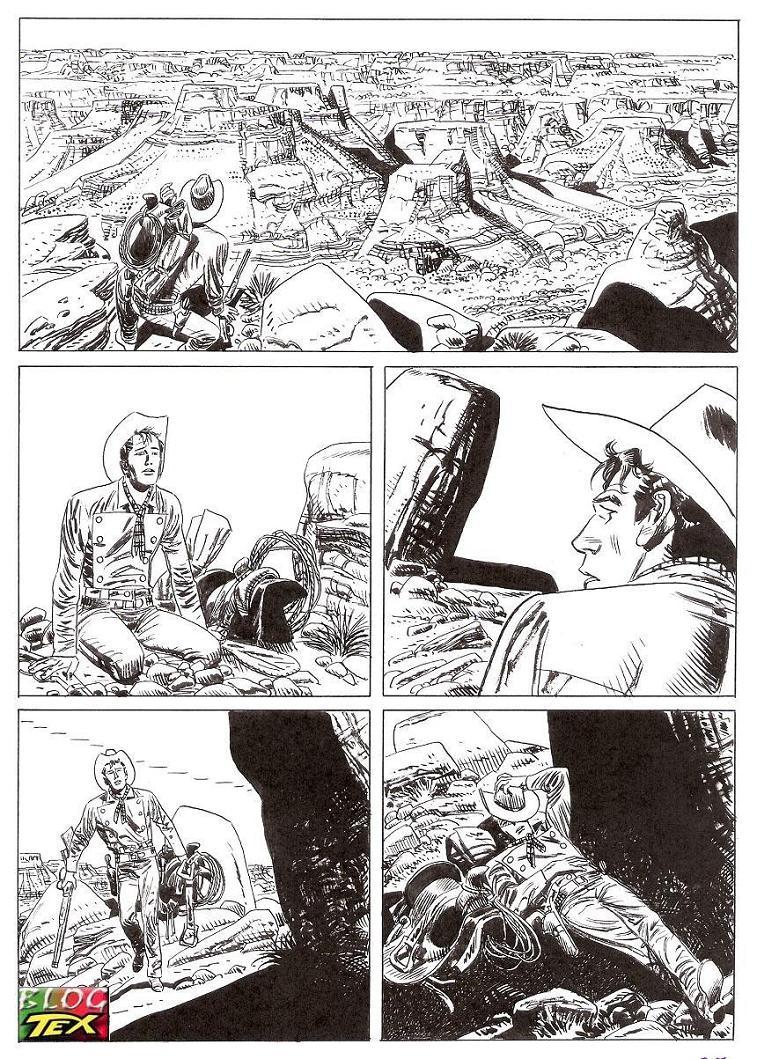 Página 189 da história inédita La mano del morto
