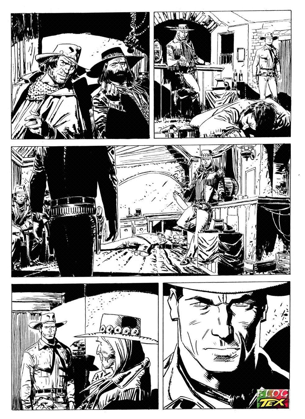 Página inédita de Tex - 1