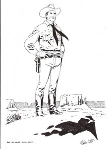 Tex Willer desenhado por Fabio Civitelli