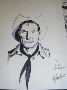 Tex Willer desenhado por Marco Bianchini