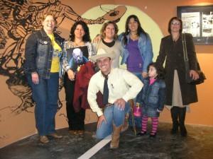 Tex e suas fãs