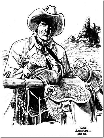 Original de Tex  de Luca Raimondo para José Carlos Francisco