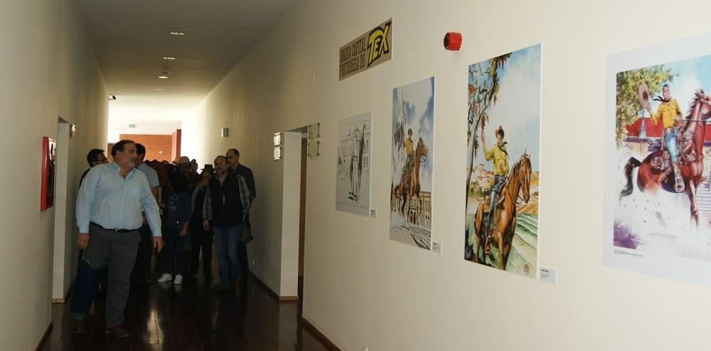 Vice-Presidente da Câmara Municipal de Anadia prestes a inaugurar a exposição permanente dedicada a Tex pelo Museu do Vinho Bairrada