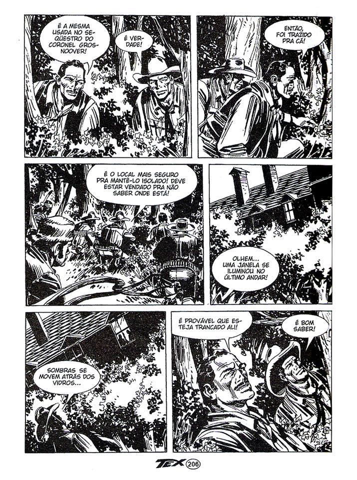 Página 206 de Tex Ouro 93 devidamente correcta num trabalho de Sérgio Streiechen