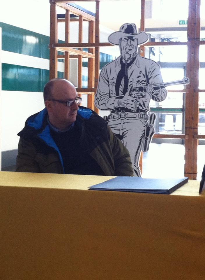 Rossano Rossi e Tex estarão presentes no 14º Festival Internacional de BD de Beja