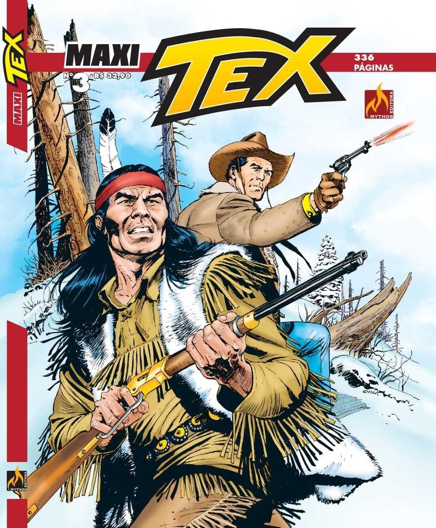 A Capa de Maxi Tex #3 (Mythos Editora)